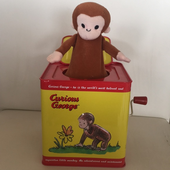 Curious George Jack in the Box Curious George Jack in the Box